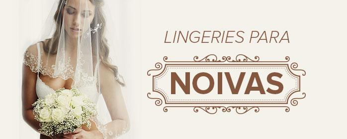 lingeries para noivas