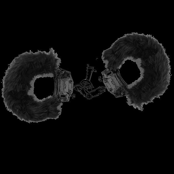 Algemas de Metal e Pelúcia com Chaves Hot Flowers