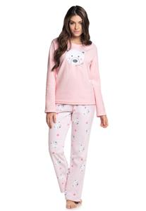 Pijama Manga Longa Urso Polar Cor com Amor