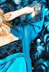 Look Completo Deep Blue De Cheles Camisola e Robe