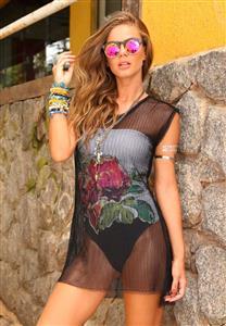 Vestido de Telinha De Chelles Acqua