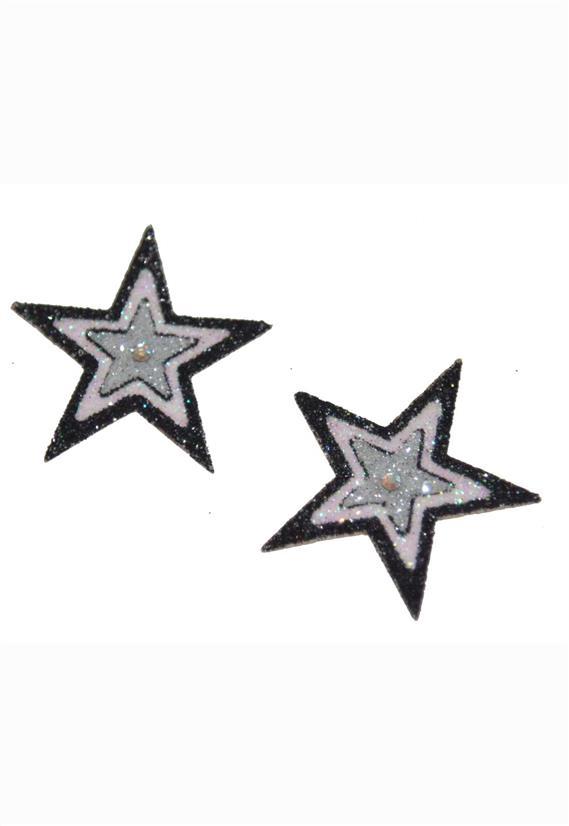 Tatuagem Adesiva 2 Estrelas  Bijoux de Pele