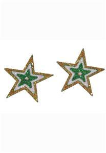 Tatuagem Adesiva 2 Estrelas Brasil Bijoux de Pele