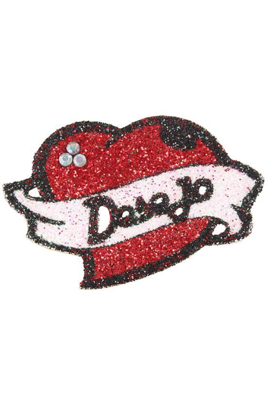 Tatuagem Adesiva Coração. Desejo Bijoux de Pele