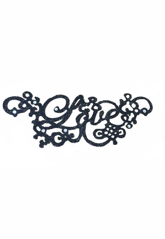 Tatuagem Adesiva Tribal Love Bijoux de Pele