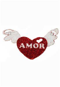 Tatuagem Adesiva Coração com Asa Bijoux de Pele