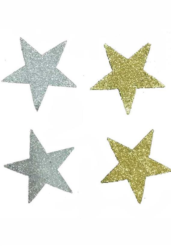 Tatuagem Adesiva Jóia de Pele Estrelas Bijoux de Pele