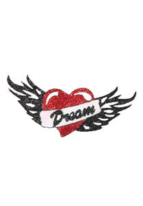 Tatuagem Adesiva Tribal Coração Bijoux de Pele II