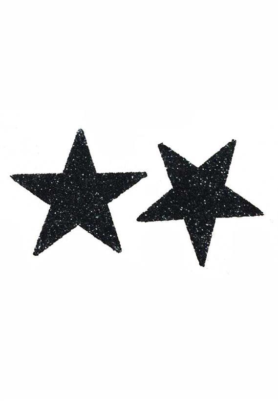 Tatuagem Adesiva 2 Estrelas Bijoux de Pele Z