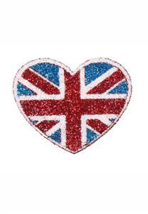 Tatuagem Adesiva Coração EUA Bijoux de Pele