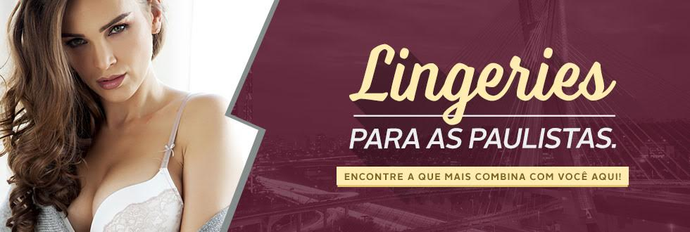 banner lingerie São Paulo