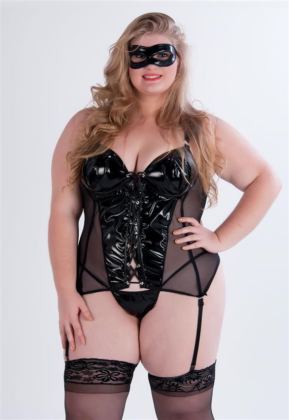 Fantasia Plus Size Tiazinha Garota Veneno