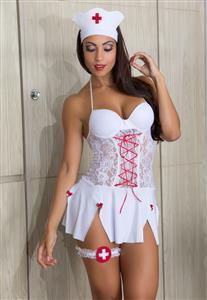 Fantasia Enfermeira Sexy Garota Veneno