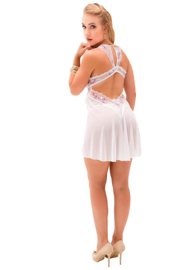 d49ad5b5b Camisola Bordada de Tule Gisele Sapeka - Sofisticado e Elegante