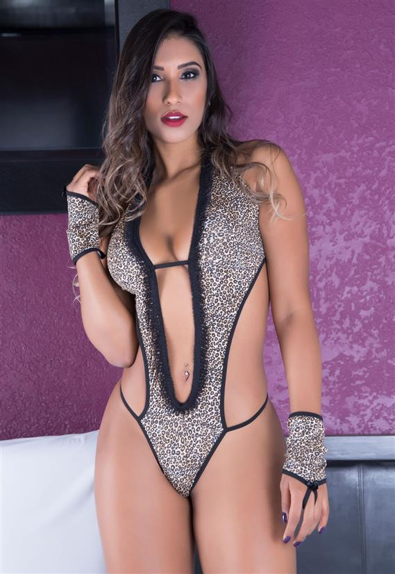 Fantasia Felina Sexy Garota Veneno