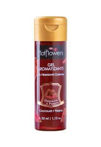 Gel Hidratante Hot Aromatizante Hot Flowers 35ml