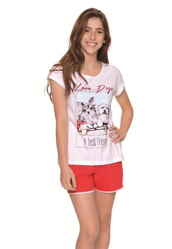 Pijama 100% Algodão Best Friends Lua Encantada