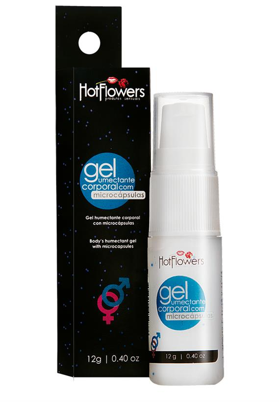 Gel Umectante Corporal com Microcápsulas Hot Flowers 12g