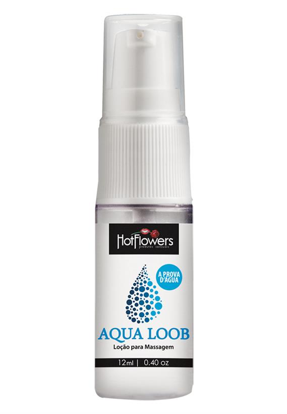 Lubrificante À Prova D'Agua Aqua Loob Hot Flowers 12 ml