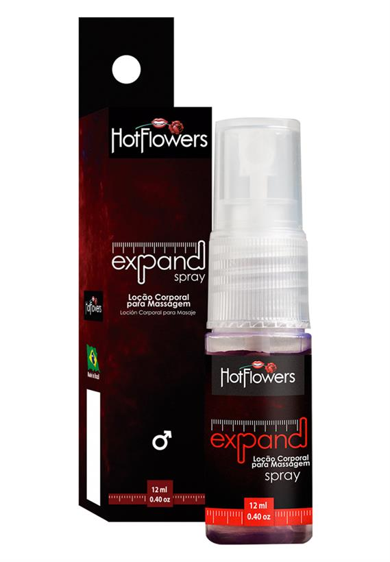 Loção Corporal Expand Spray Hot Flowers 12 ml