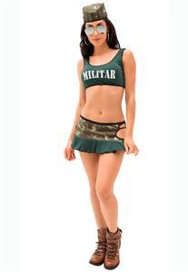 Fantasia Sexy de Militar Sara Sapeka