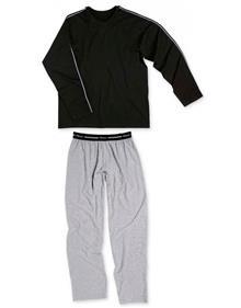 Pijama Cotton Longo Calção Mash