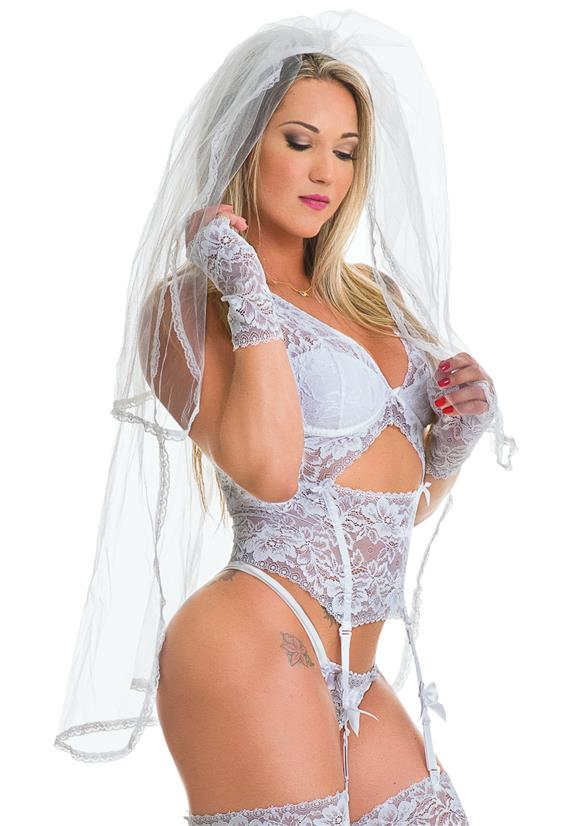Véu da Noiva Erótika
