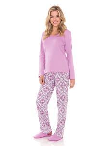 Pijama em Malha Classic Lua Encantada