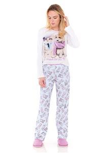 Pijama em Malha Feminino Best Friends Lua Encantada