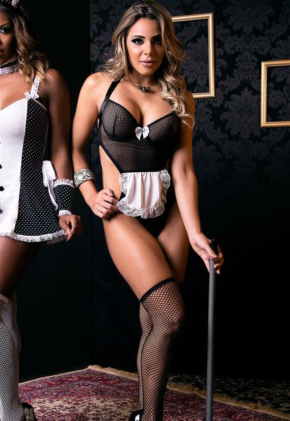 Fantasia Erótica Empregadinha Sibele Sapeka