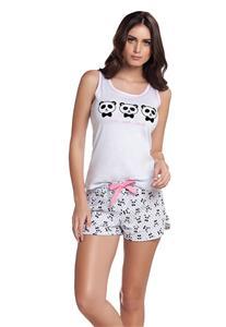 Short Doll Panda Regata Cor com Amor