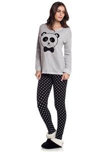 Pijama com Legging Cor com Amor
