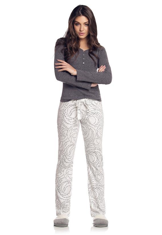 Pijama Longo Cor com Amor