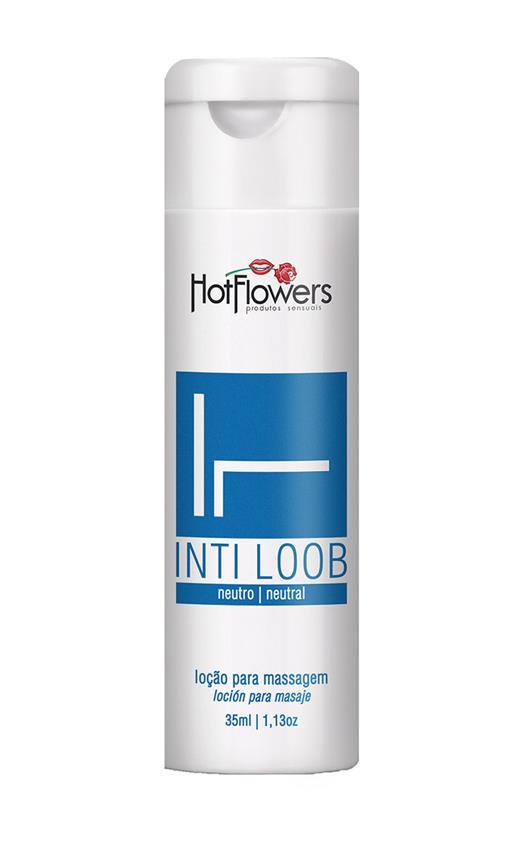 Loção Lubrificante Unissex Inti Loob Hot Flowers
