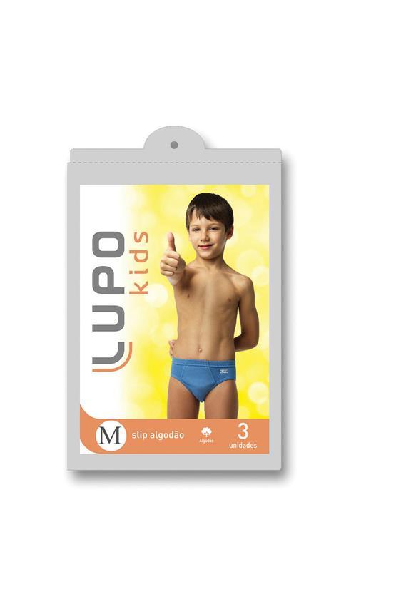 Kit Infantil Cuecas Lupo em Algodão 140 - Le Lingerie d81898c23ca