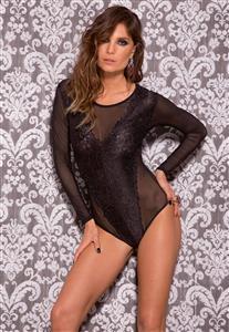 Body Sensual Corpo Inteiro Todo Bordado - Leg Avenue e4c00510d66d1