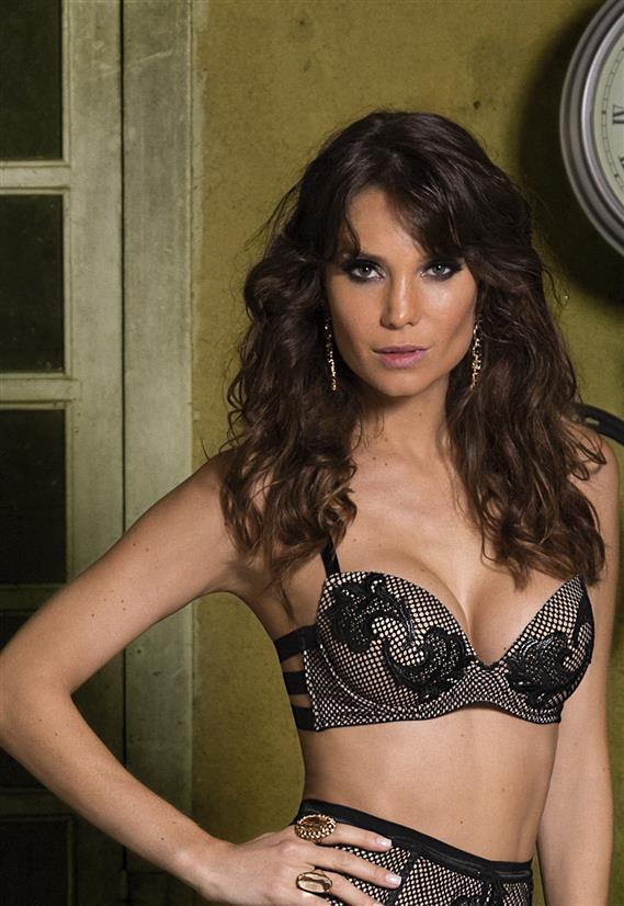 Sutiã de Tiras com Telinha Push Up Miss Fatale De Chelles