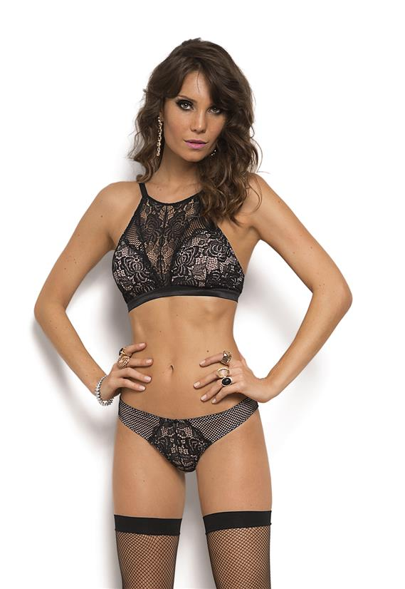 Conjunto High Neck Miss Fatale De Chelles