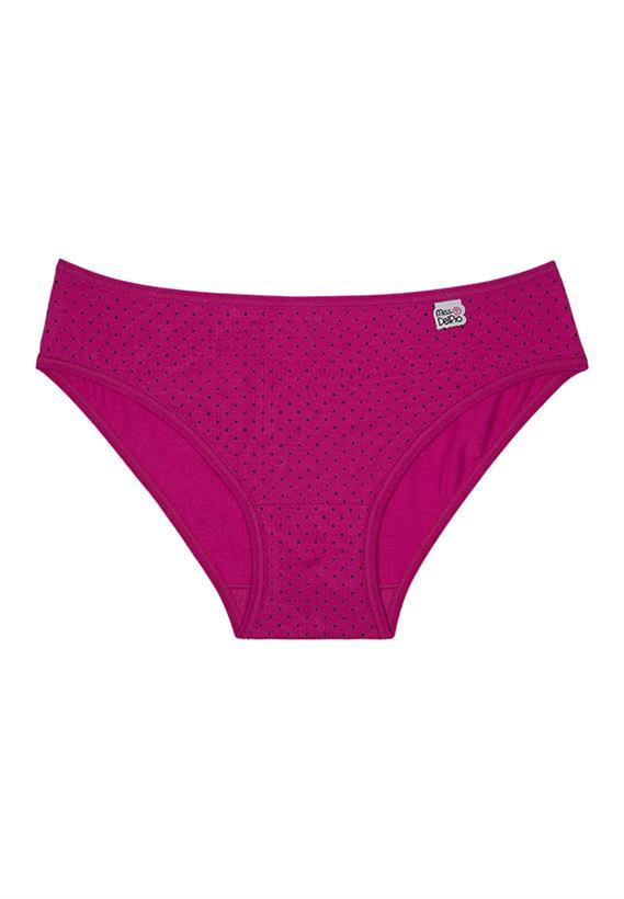 Calcinha Infantil Pink Miss DelRio 51480
