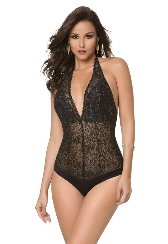 39937d9cd Body Rendado DelRio Frente Única 43665 - Le Lingerie