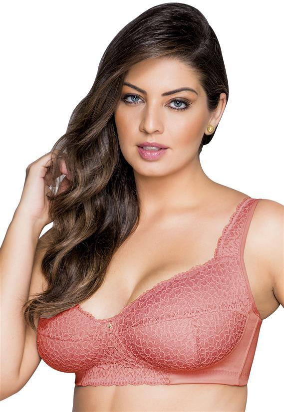 Sutiã Plus Size Sem Aro com Renda Dilady 124133