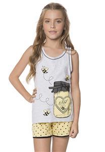 Pijama Regata de Verão Juvenil Doce Lua Encantada