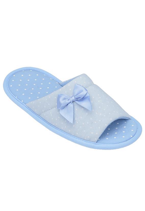 0ff569524ad181 Chinelo Pantufa Azul Aberto Artema