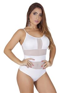 Body com Transparência Sexy Vellfer
