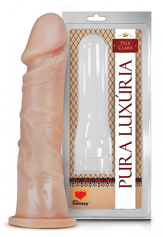Pênis com Veias 17,5 x 4,1 Sexy Fantasy