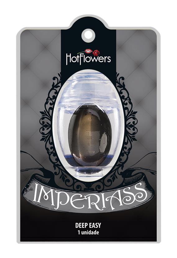 Cápsula Lubrificante Oval Imperiass Hot Flowers