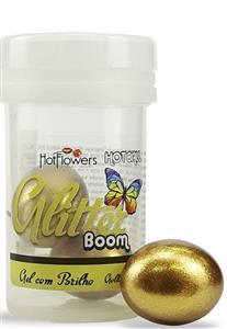 Bolinhas do Prazer com Glitter Boom Hot Flowers