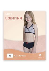 Conjunto Infantil em Algodão 214-003 Lobinha Lupo
