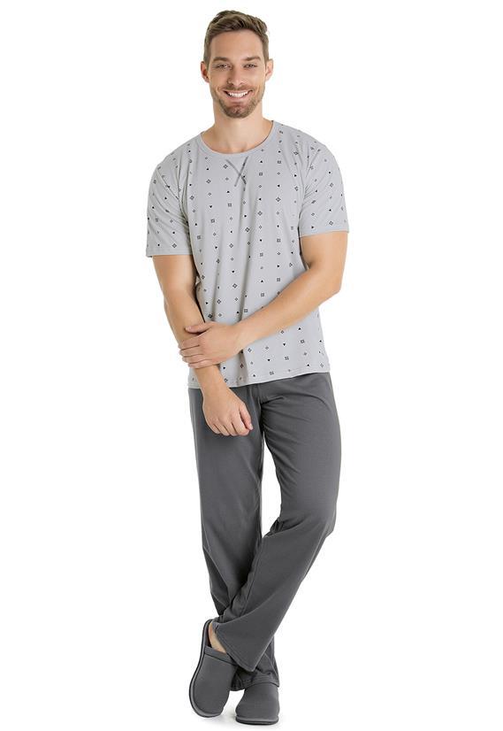 Pijama Masculino em Malha Bela Notte