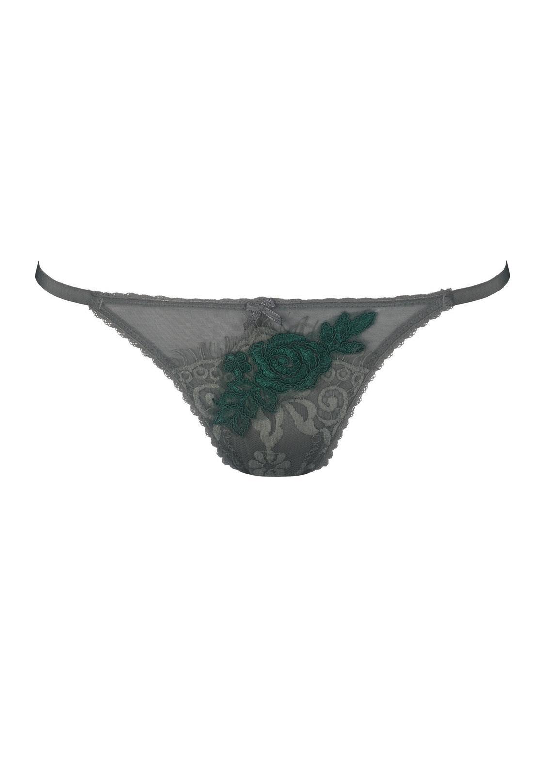 6a48b7062 Calcinha String Fio Duplo Emerald De Chelles - Le Lingerie